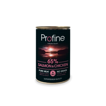 Profine Pure Meat Zalm en Kip 400gr