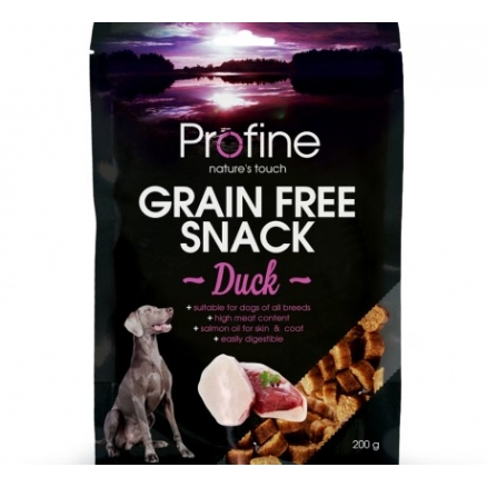 Profine Grainfree Snack 200gr Eend