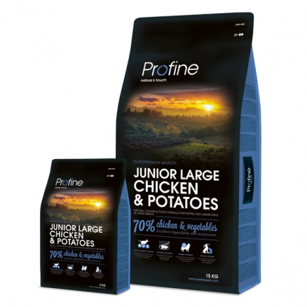 Profine Junior Large Breed Chicken & Potatoes 3 kg