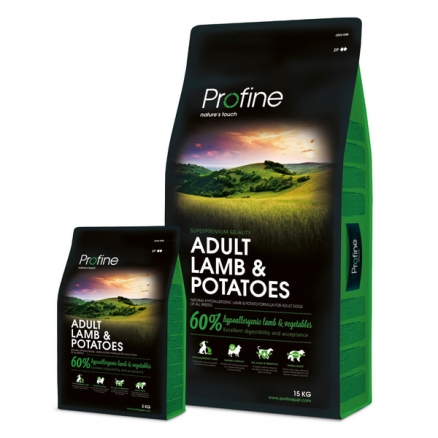 Profine Adult Lamb & Potatoes 15 kg
