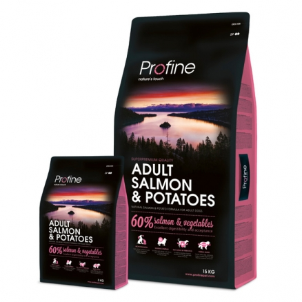 Profine Adult Salmon & Potatoes 15 kg