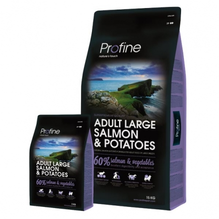 Profine Large Breed Salmon & Potatoes 15 kg
